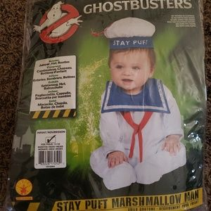 Infant Stay Puft Marshmallow Man Costume